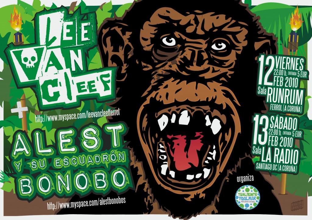 Lee Van Cleef + Alest y su escuadrón bonobo